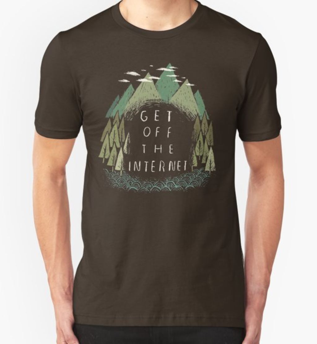 RedBubble: get off the internet