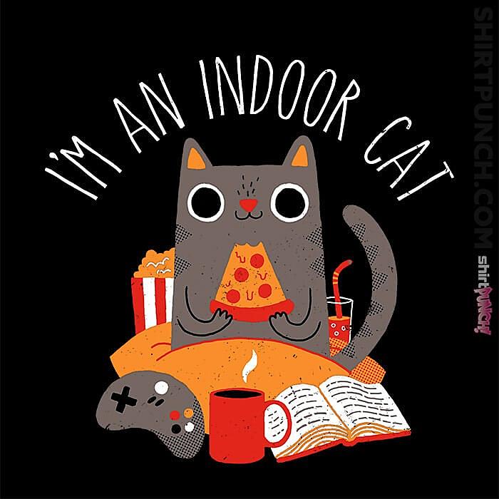 ShirtPunch: Indoor Cat