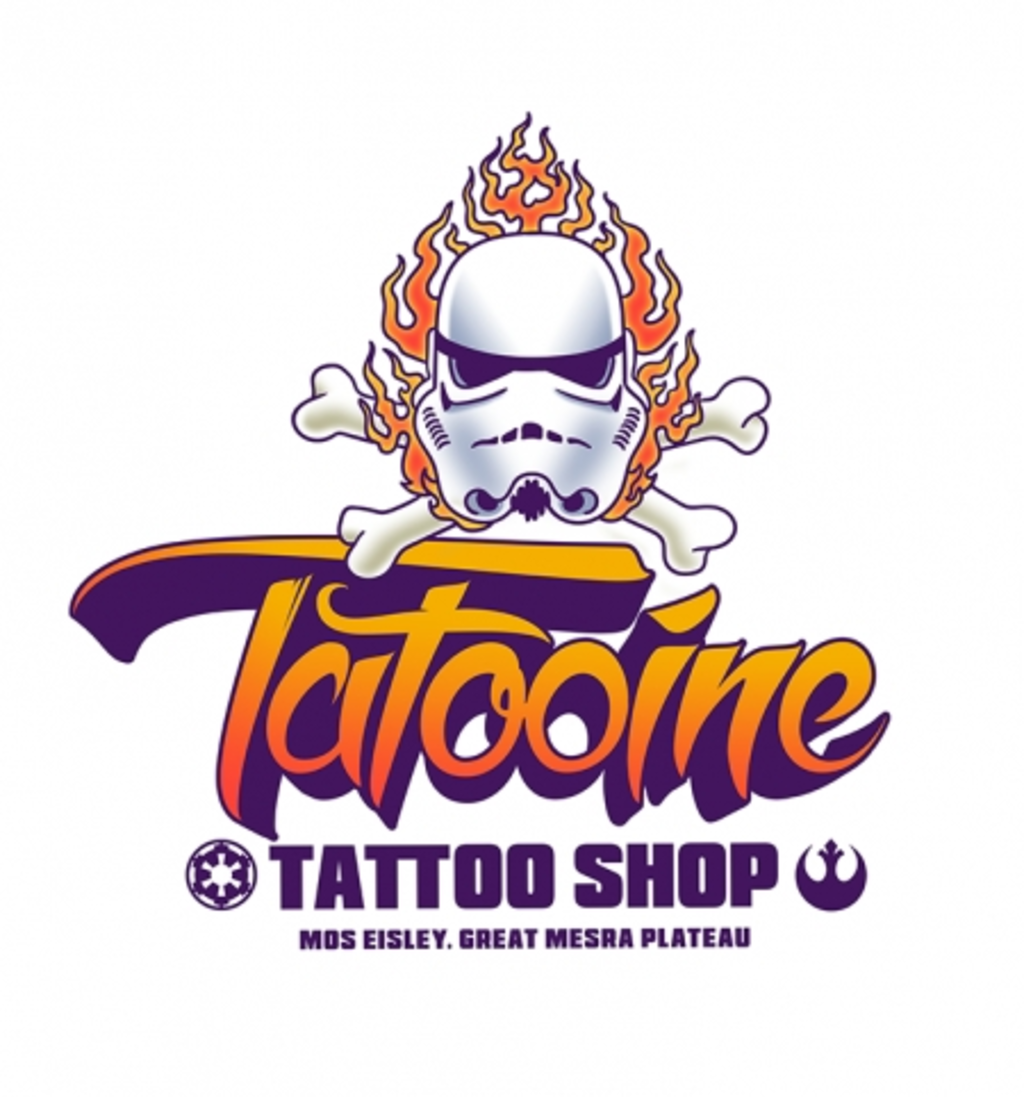 BustedTees: Tatooine Tattoo Shop