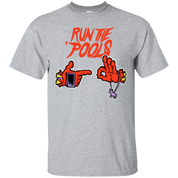 Pop-Up Tee: Run the Pools