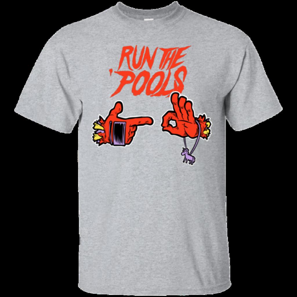 Pop-Up Tee: Run the Pools