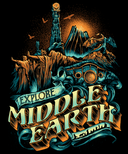 Qwertee: To the forgotten world we go