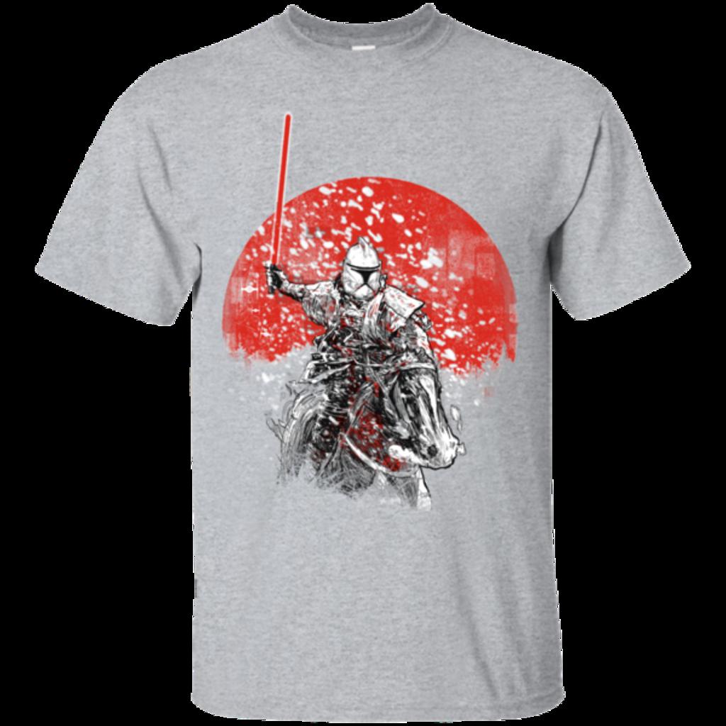 Pop-Up Tee: Samurai Trooper