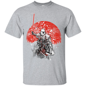 Pop-Up Tee: Samurai Trooper