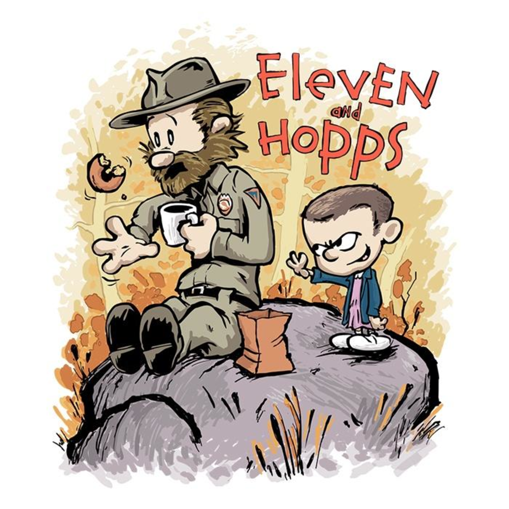 Once Upon a Tee: Eleven and Hopps