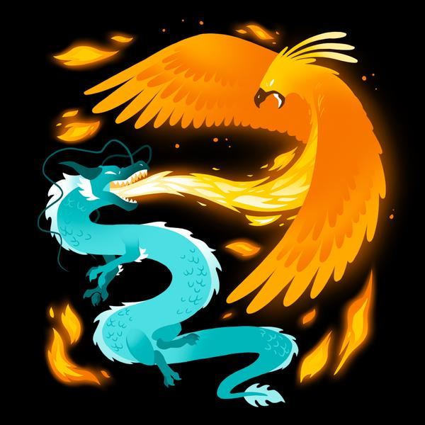 TeeTurtle: Fire and Ice
