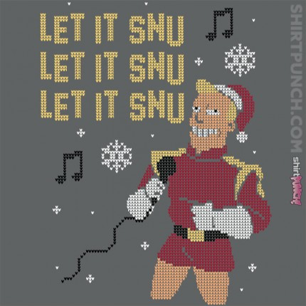 ShirtPunch: Let it snu