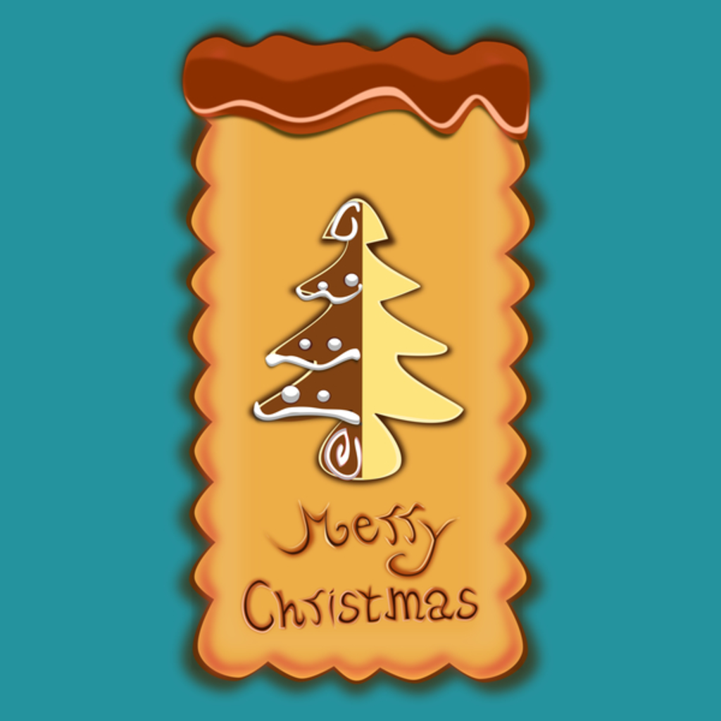 NeatoShop: Merry Christmas Biscuit