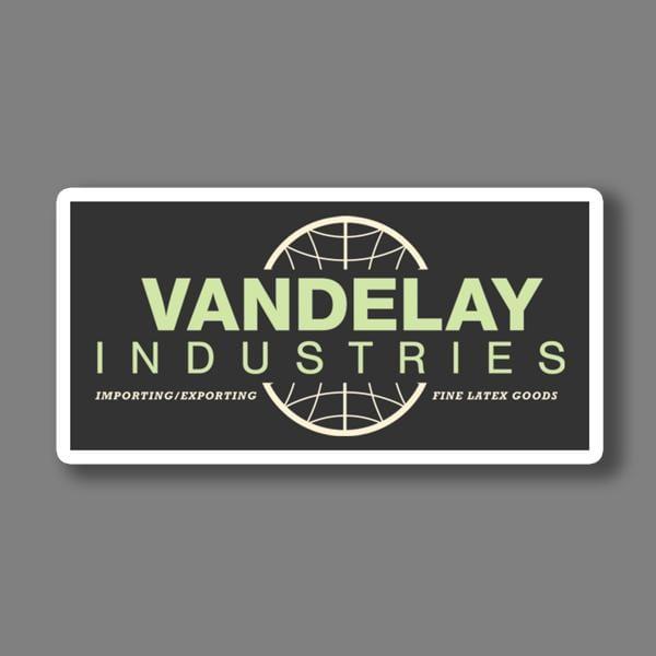 BustedTees: Vandelay Industries Vinyl Sticker