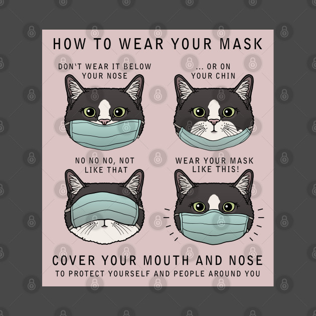 TeePublic: How to wear your mask