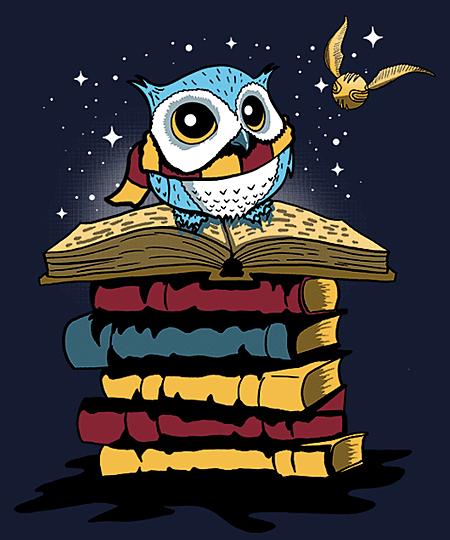 Qwertee: Snowy Owl