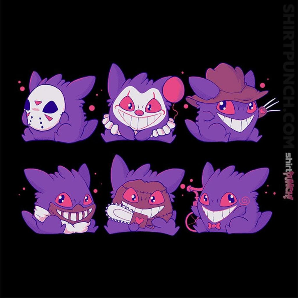 ShirtPunch: Horror Gengar