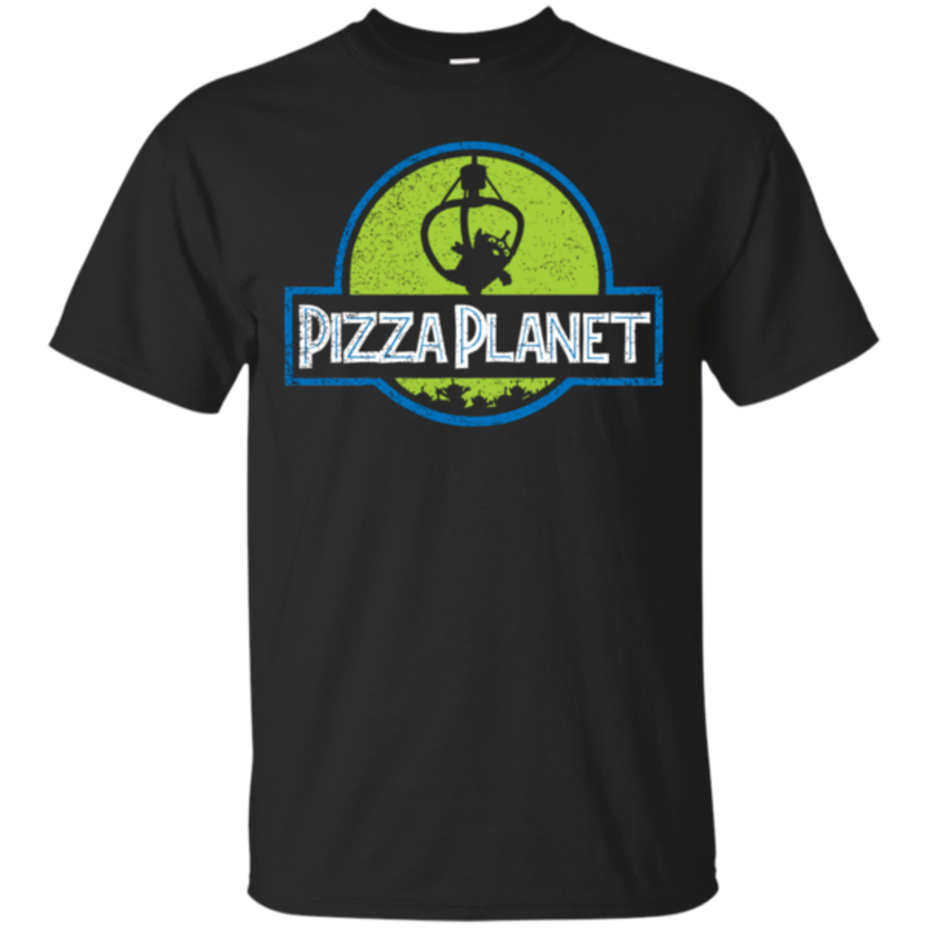 Pop-Up Tee: Pizza Planet