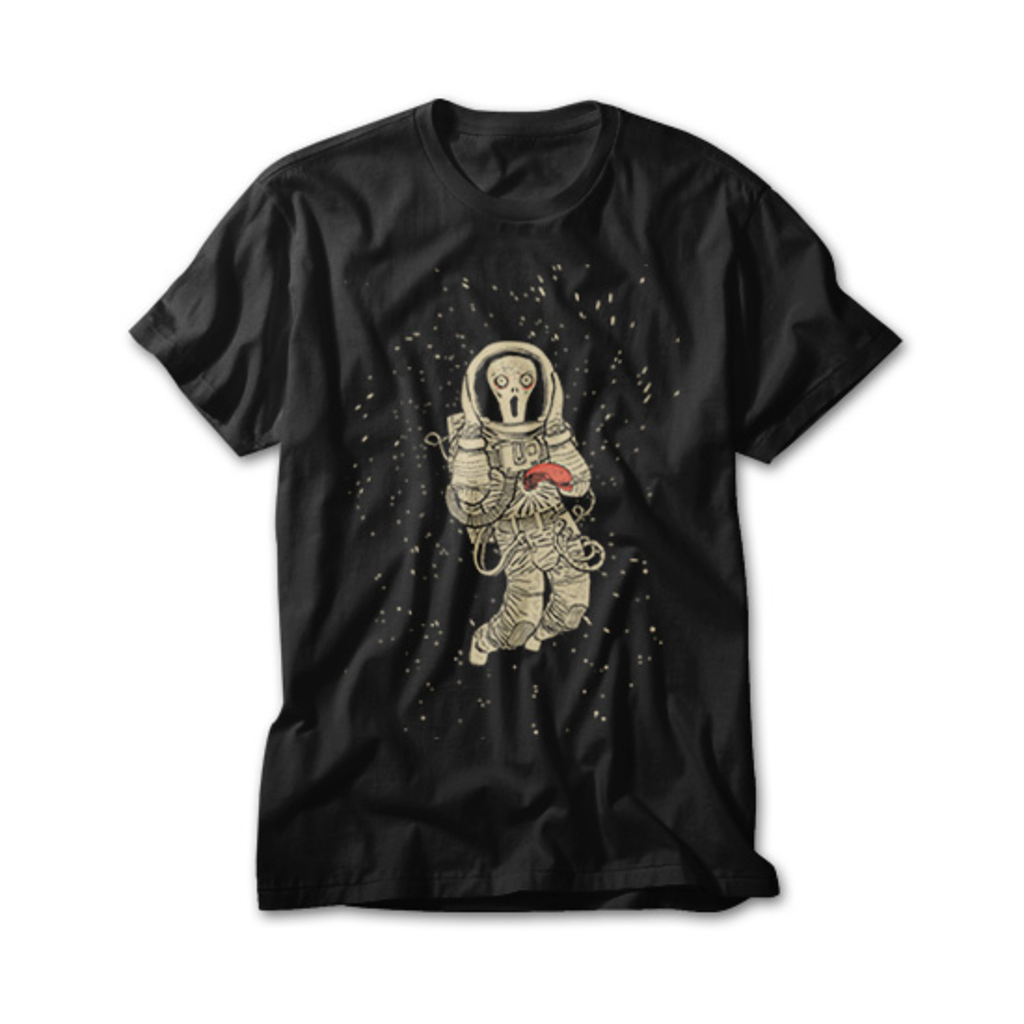 OtherTees: In space no one can hear you scream
