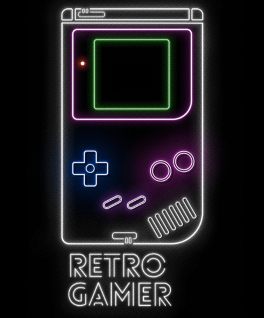 Qwertee: Retro Gamer