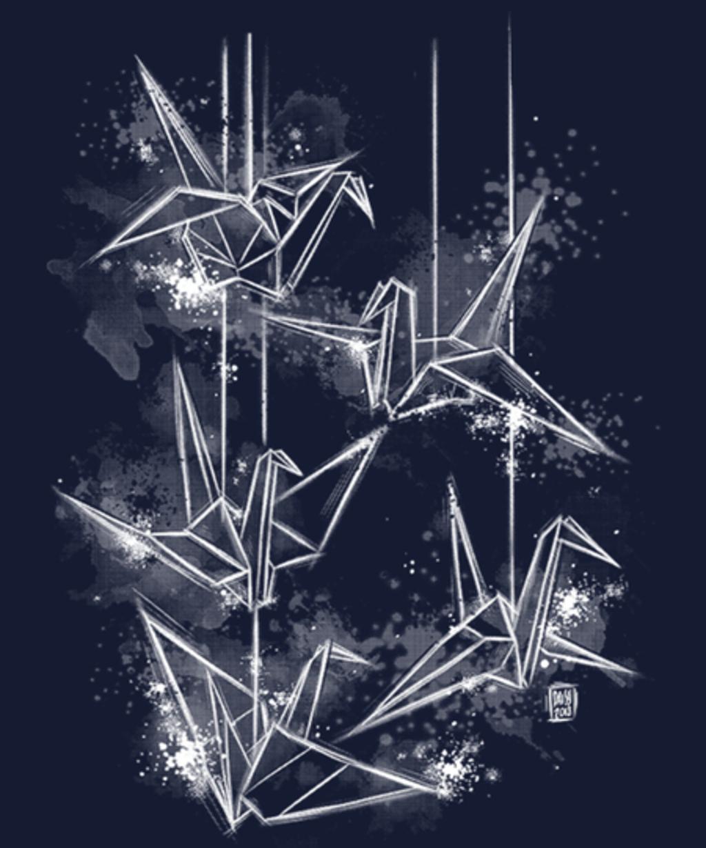 Qwertee: Negative origami dream