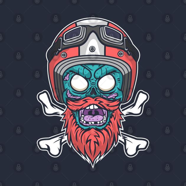 TeePublic: Rider Zombie