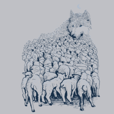 Textual Tees: Wolf Mountain