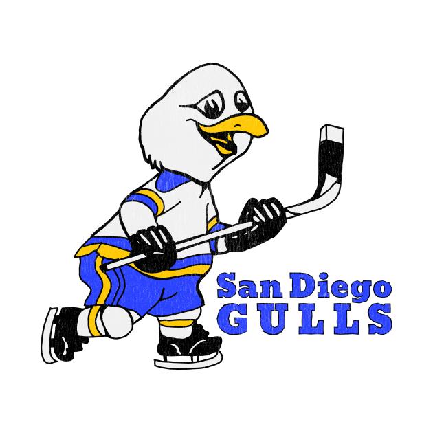 TeePublic: Defunct San Diego Gulls 1966