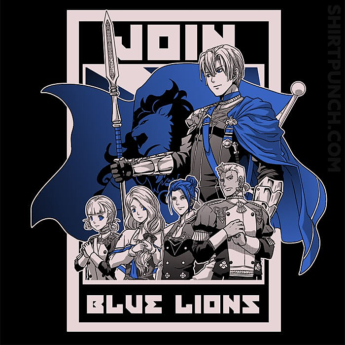 ShirtPunch: Join Blue Lions
