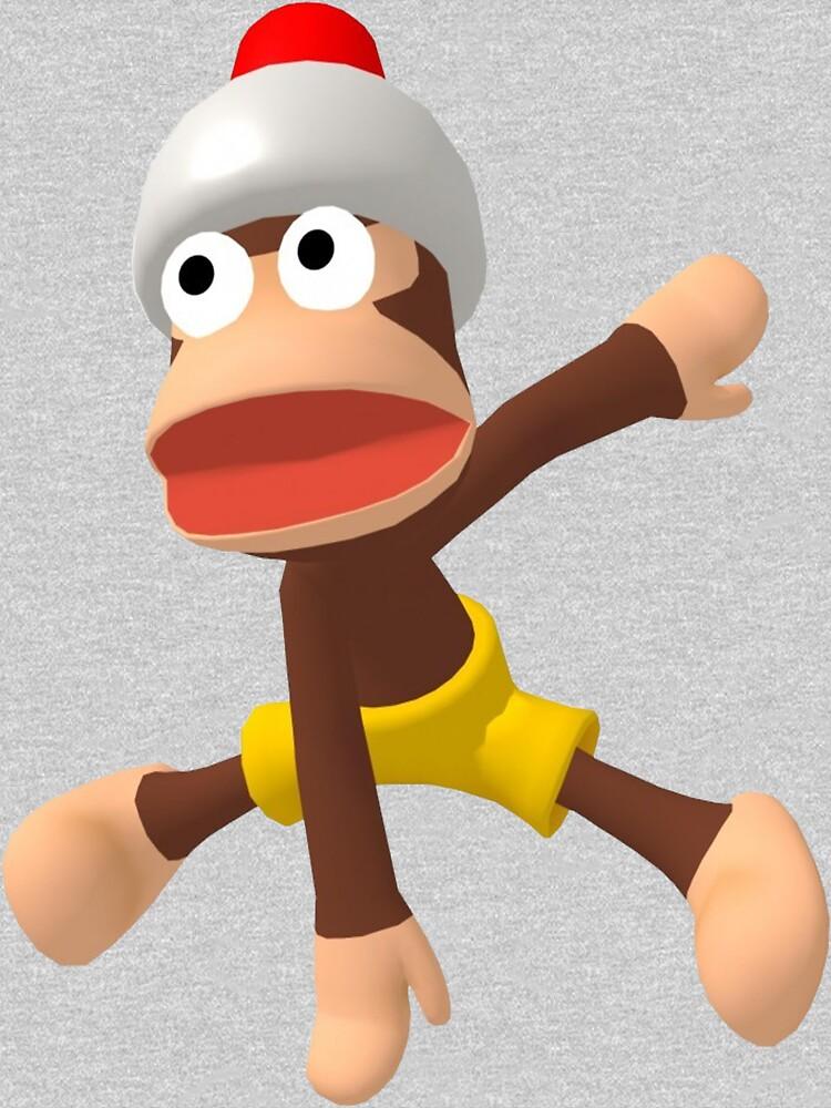 RedBubble: Ape Escape 3 Monkey Dance