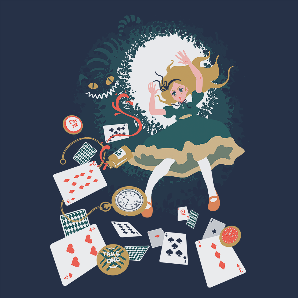 Pop-Up Tee: Down the rabbit hole