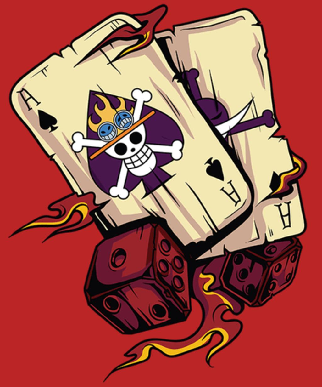 Qwertee: Pirate Cards
