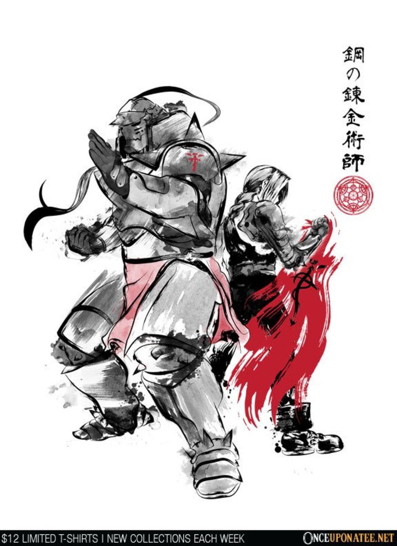 Once Upon a Tee: Brotherhood Sumi-e
