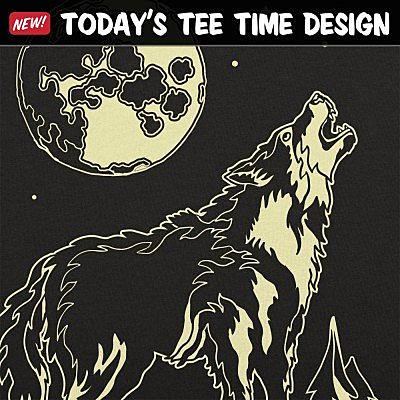 6 Dollar Shirts: Lone Wolf Howl