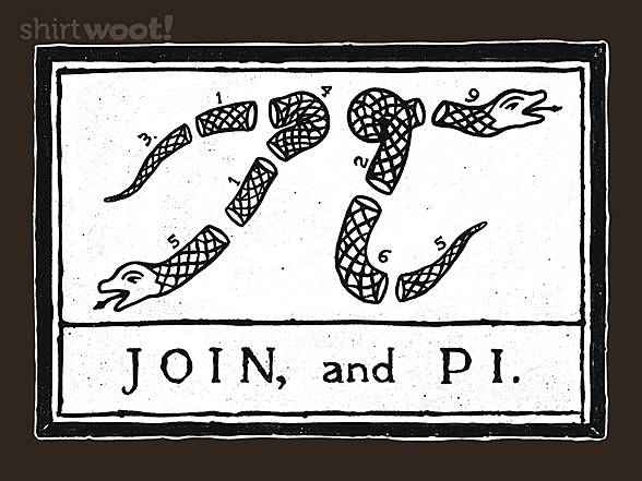 Woot!: JOIN, and PI.