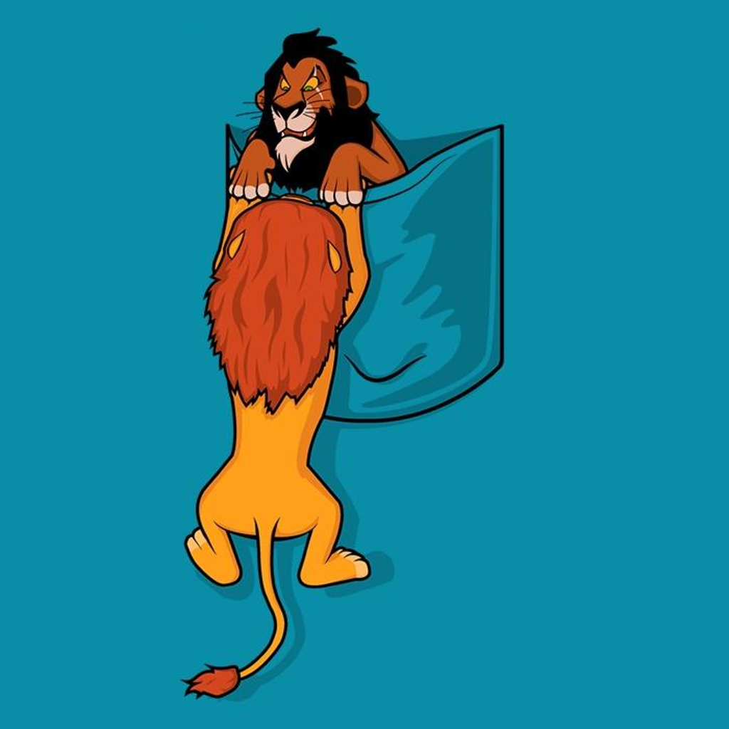 Once Upon a Tee: Pocket King