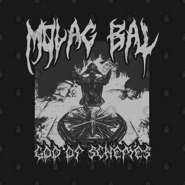 TeePublic: Molag Bal - Death Metal