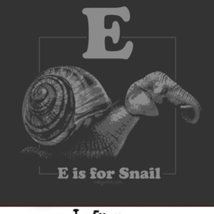 Tee Gravy: E is for Snail