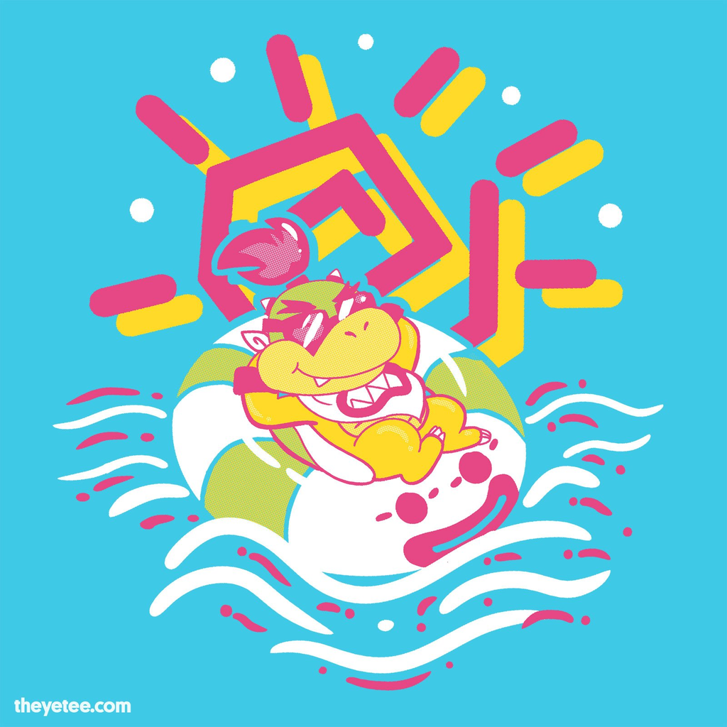 The Yetee: Junior's Day Off