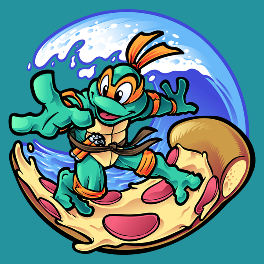 NeatoShop: Surfing Pizza Dude