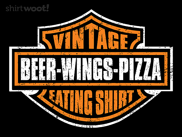 Woot!: My Vintage Eating Shirt