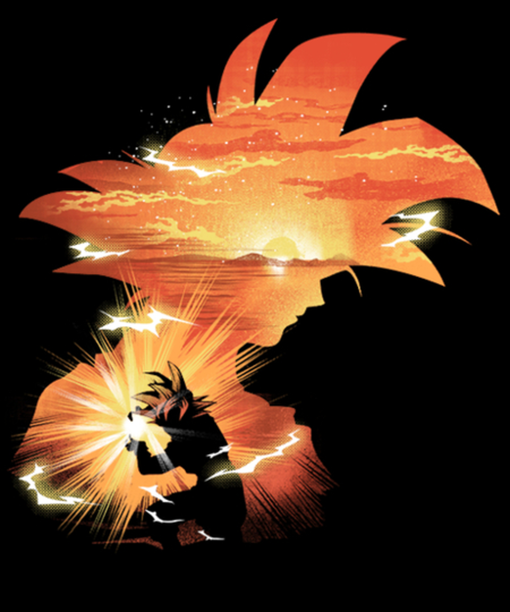 Qwertee: The First Super Saiyan
