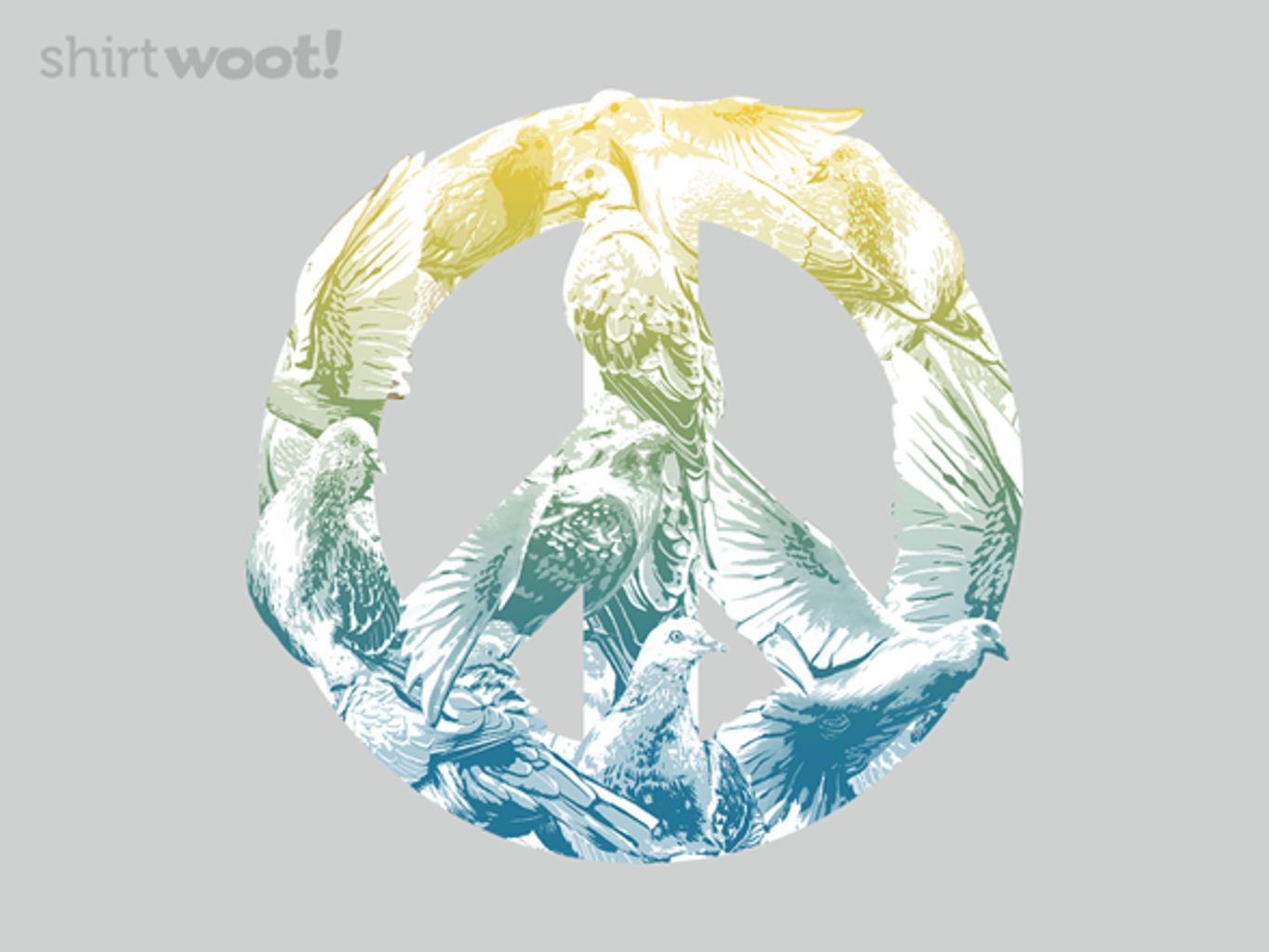 Woot!: Pigeons for Peace - $15.00 + Free shipping