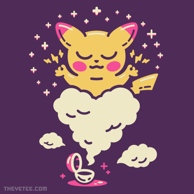 The Yetee: Electric Buddy