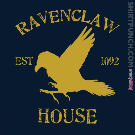 ShirtPunch: House Ravenclaw