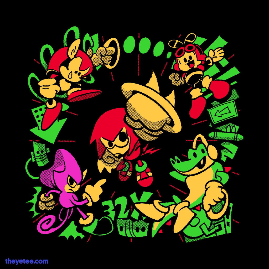 The Yetee: Ring Of Friends