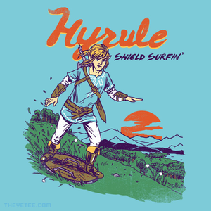 The Yetee: Shield Surfin'