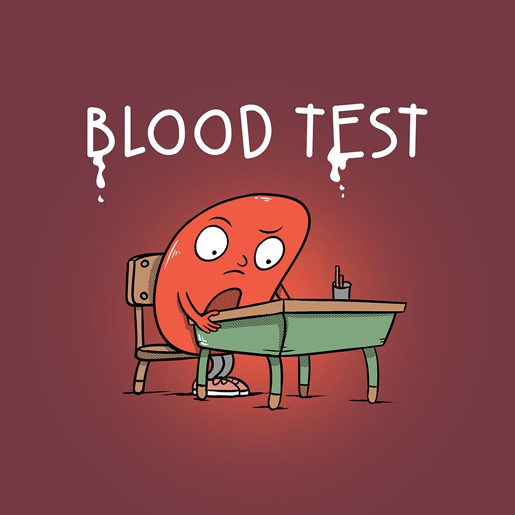 TeeTee: Blood Test