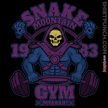 ShirtPunch: Snake Mountain Gym
