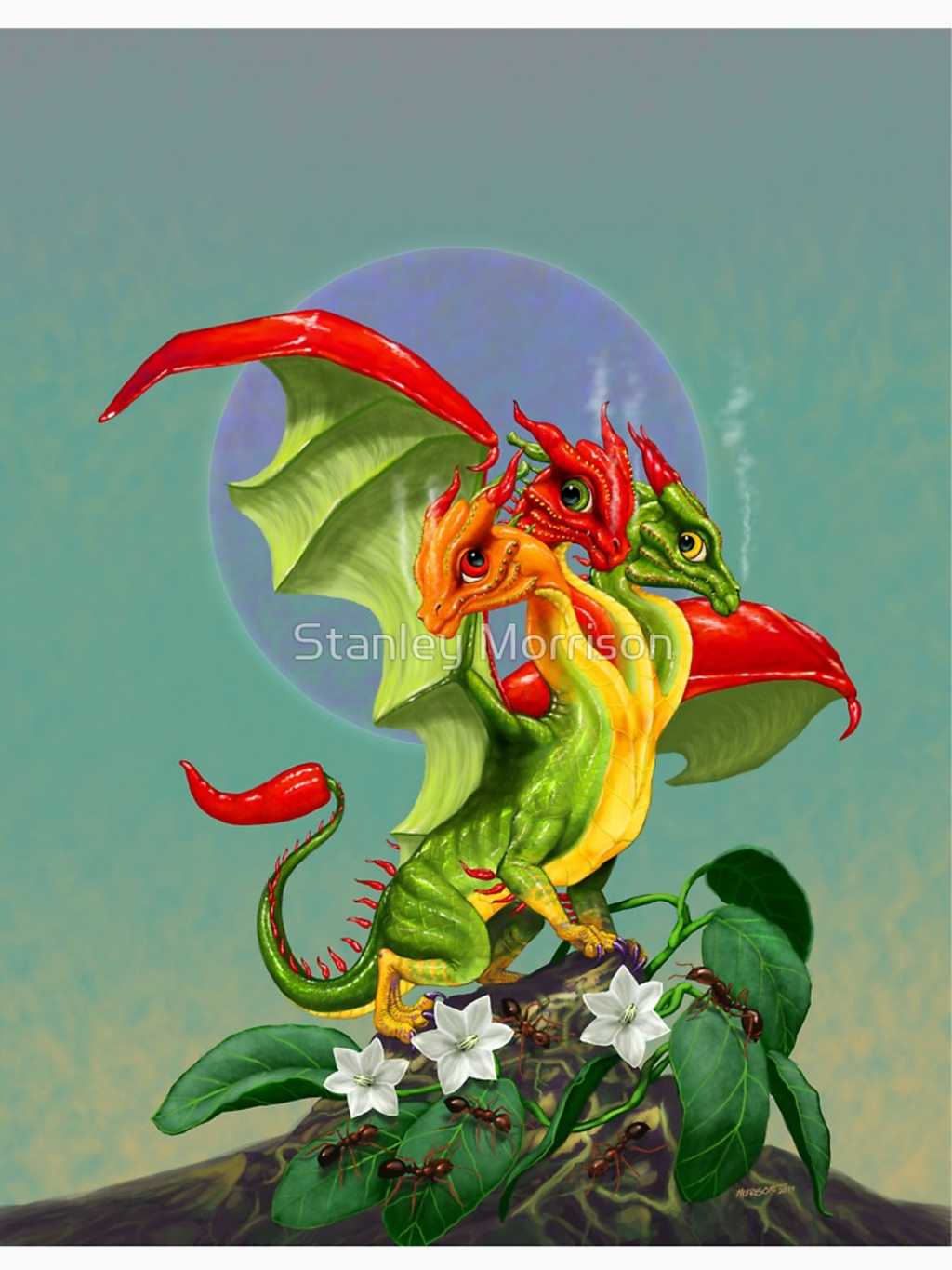 RedBubble: Peppers Dragon