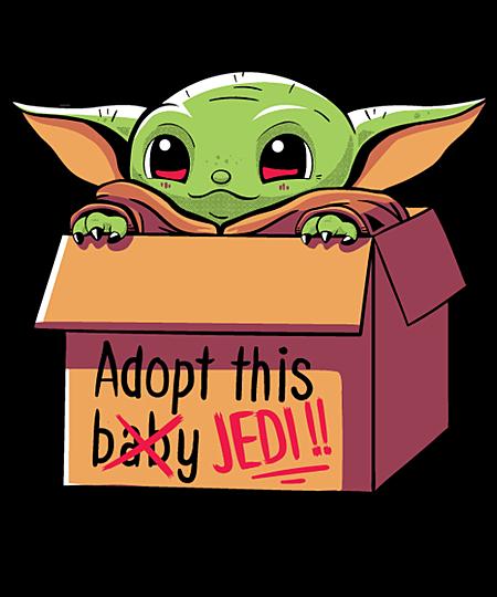 Qwertee: Adopt this baby