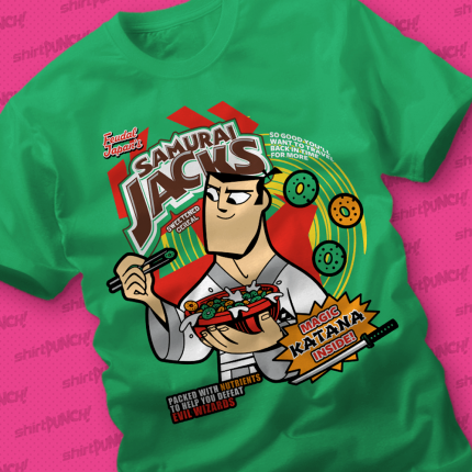 ShirtPunch: Samurai Cereal