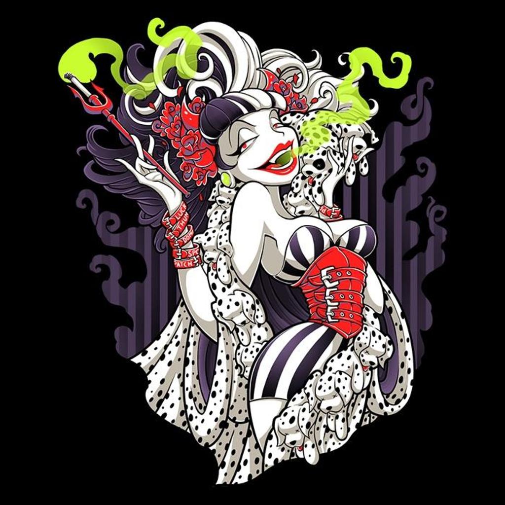Once Upon a Tee: Cruella de Mon