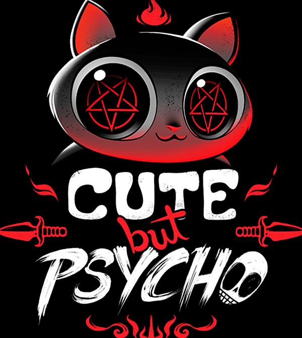 teeVillain: Cute but Psycho