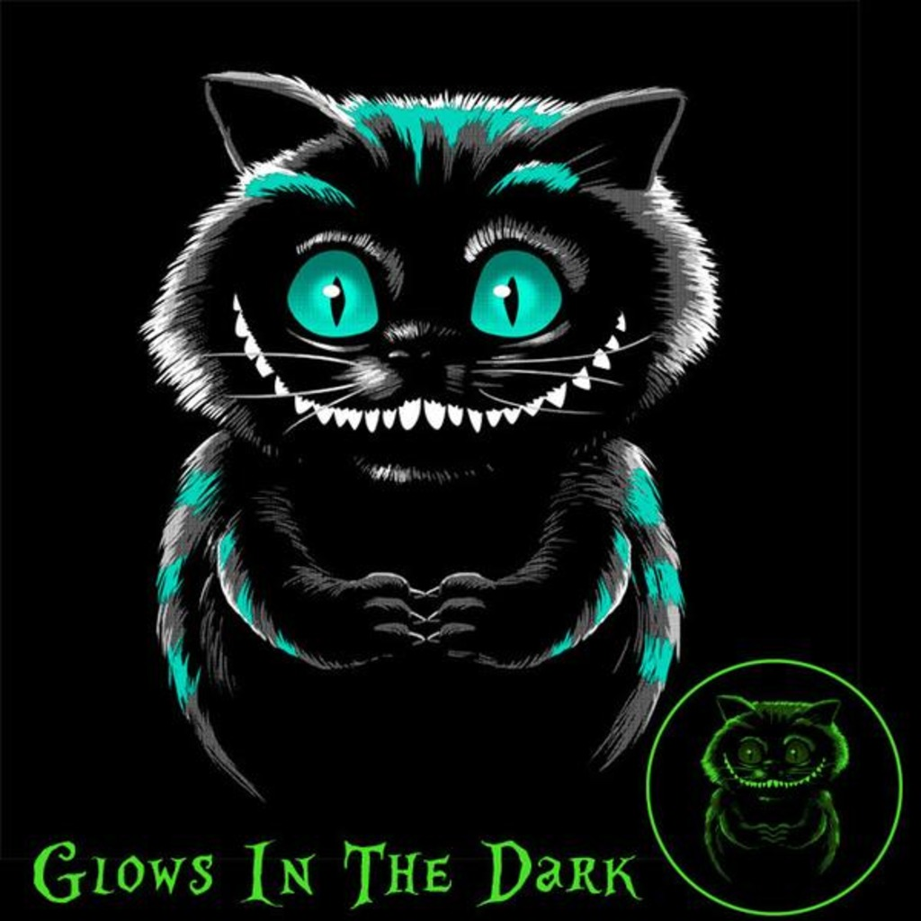 Tee11: Shadow Cat – Glow In The Dark